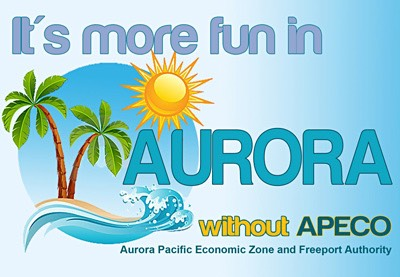 It's more fun in Aurora without APECO