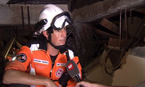 Stefan Christen, Chief Operation Search & Rescue SKH